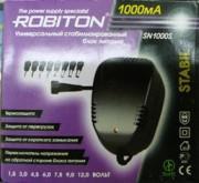 Блок питания ROBITON DN 1000(3-12V,1000mAh)