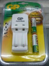 Зарядное устройство GP KB02GS+2(4) аккумулятора АА 1300мА