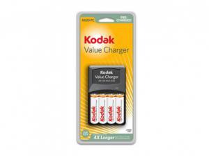 зарядное устройство KODAK EP K620+4 аккумулятора АА2100