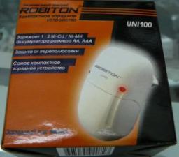 Зарядное устройство Robiton Uni100 (1-2 AA/AAA,140mA)