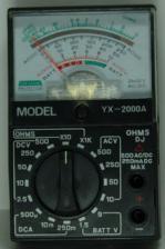 Мультиметр YX-2000A(133) стрелочный
