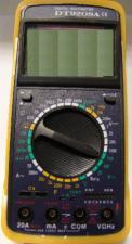 Мультиметр DT 9208 калоша температура частота