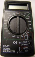 Мультиметр M(DT)-831 прозвонка