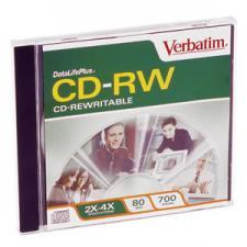 CD RW VERBATIM-80