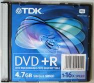 DVD+R TDK-4.7Г
