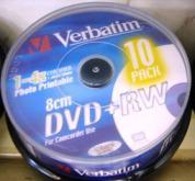 mini bulk DVD+RW VERBATIM 1,4G