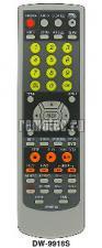 Пульт дистанционного управления BBK DW-9916S DVD