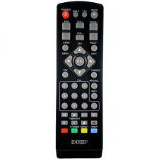 Пульт дистанционного управления ЭФИР HD-500 ресивера цифрового эфирного ТВ